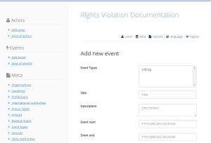Rights Violation Documentation